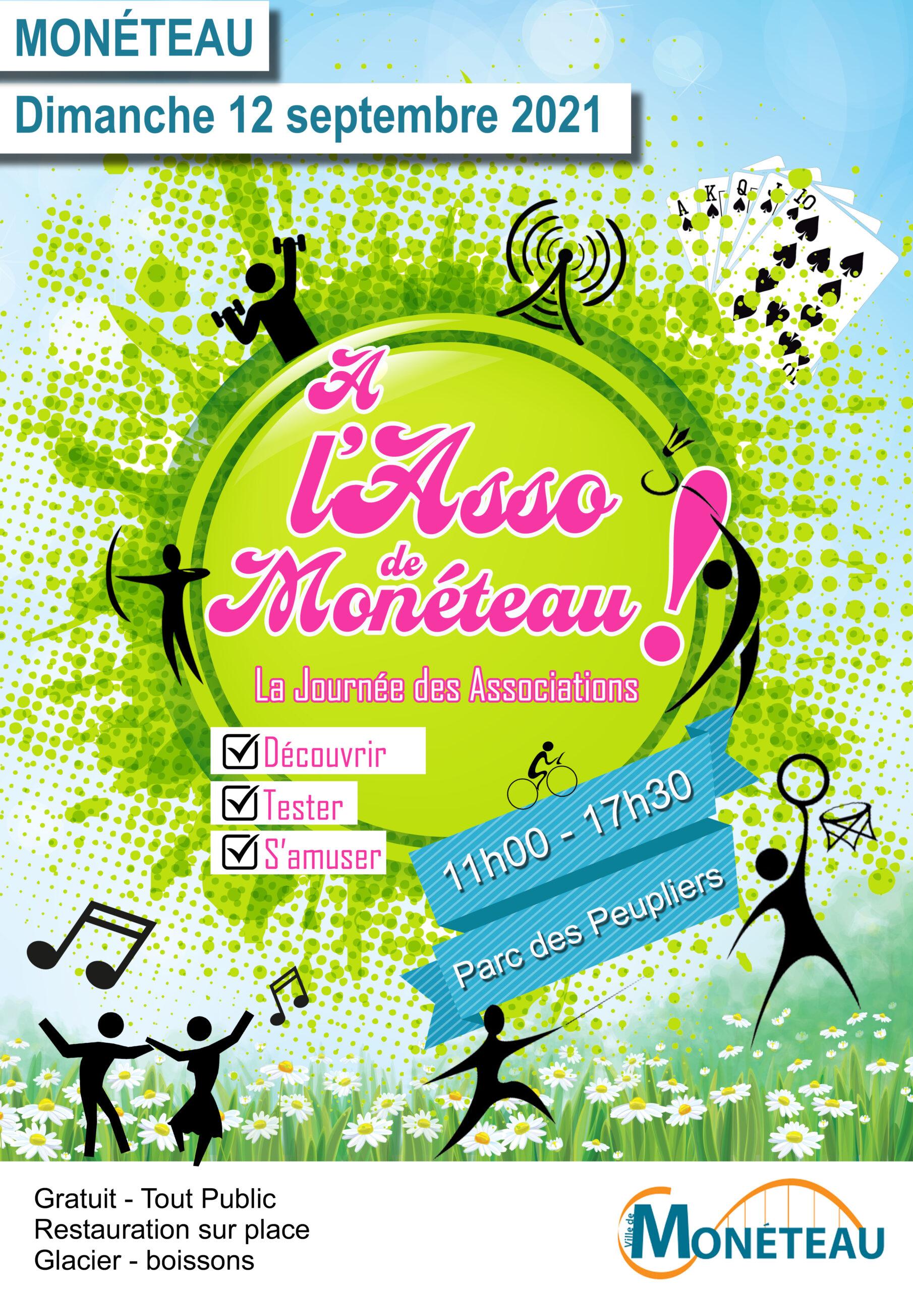 Evénément : A l'Asso de Monéteau le 12 septembre 2021